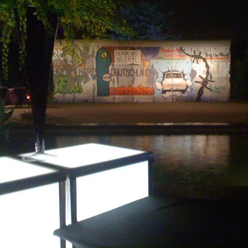 Berliner Mauer bei Deutscher Botschaft