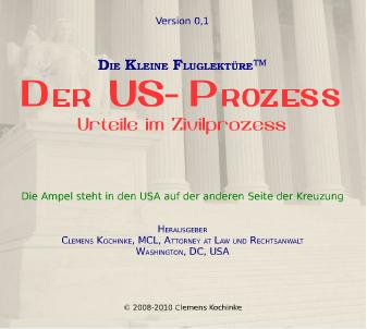 Bild zum Dokument Der US-Prozess