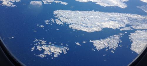 Grönland Transatlantik Flug